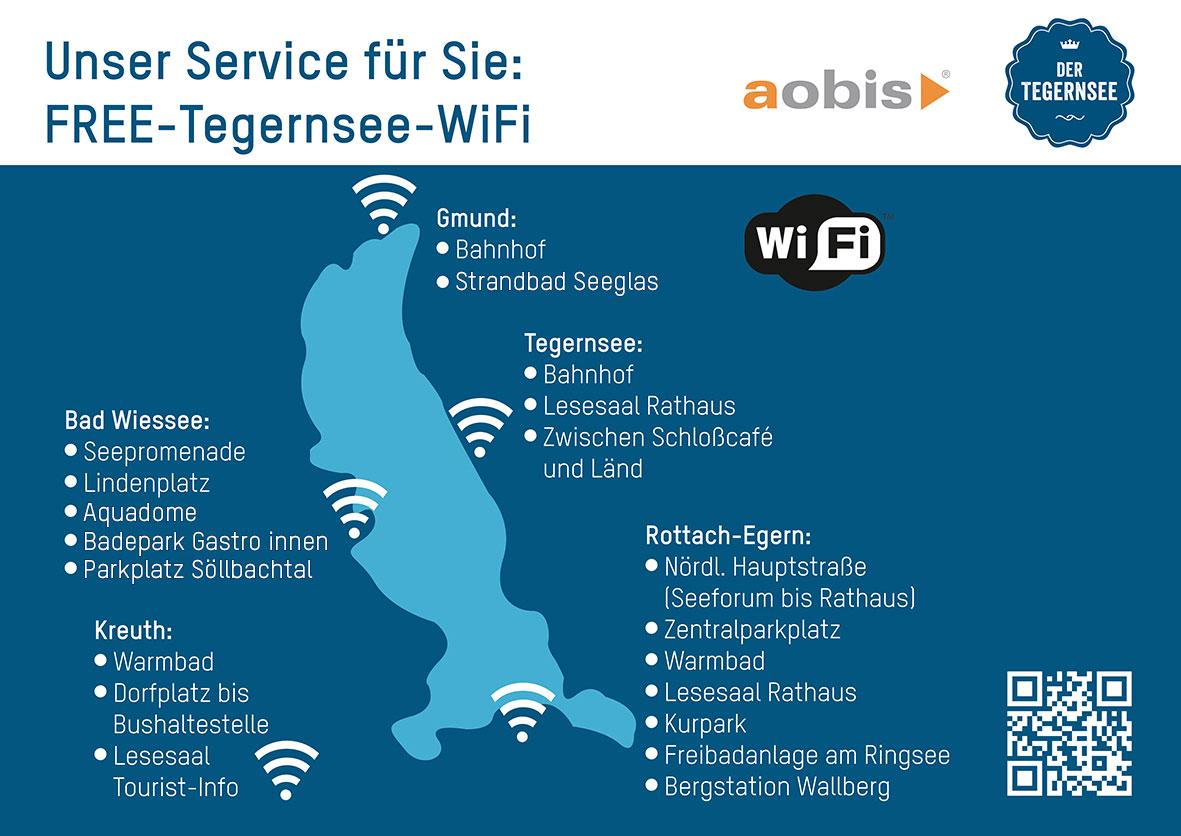 Free-Tegernsee-WiFi Standorte